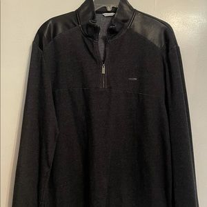 Calvin Klein Men's Pullover Shirt Size XL Black